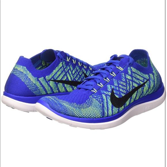 150272b070661 Nike Free 4.0 Flyknit Men s Running Shoe SIZE 10. M 5aa1e0a63b16089350dde3af